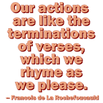 Our Actions Are Like