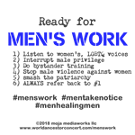 moja - Men's Work List 1-2