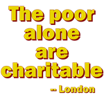 The Poor Alone