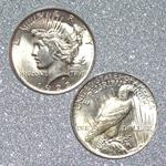 Peace Dollar Coin