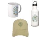 Hats, bags, drinkware, etc
