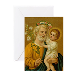 A Variety of St. Joseph Cards