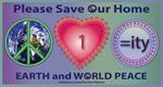 World Peace, One World, Equality