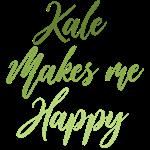 Kale Makes Me Happy T-Shirts