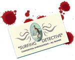 Surfing Detective Card
