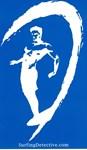 Surfer Logo Blue-White