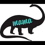 Mama Dino Brontosaurus Blue
