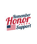 Remember, Honor, Support