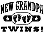 New Grandpa Twins t-shirts