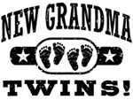 New Grandma Twins t-shirts