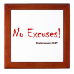 Framed Tiles that speak the Word of God!
