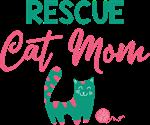 Rescue Cat Mom