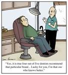 The Fifth Dentist Cartoon