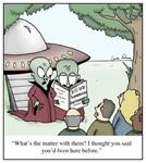 Ancinet Aliens Dictionary Cartoon