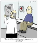 Stupidity Diagnosis Doctor Cartoon
