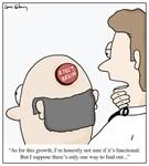 Eject Brain Doctor Cartoon