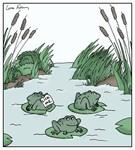 Frog Practical Jokes Animal Cartoon