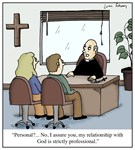 Personal Relationship With God Christian Cartoon