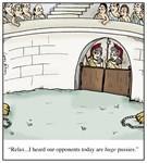 Roman Colosseum Huge Pussies Gladiator Cartoon