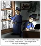 Revolving Bookcase Cartoon