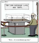 The Line Between Love and Hate Cartoon