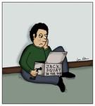 Jack Squat in the Box Bad Present Cartoon