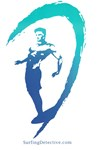 Surfer Logo Turquoise-Blue