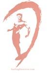 Surfer Logo Coral