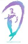 Surfer Logo Lavender-Turquoise