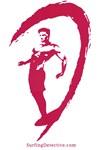 Surfer Logo Red