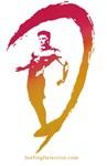 Surfer Logo Red-Gold