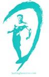 Surfer Logo Turquoise