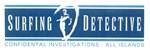 Surfing Detective Logo Blue