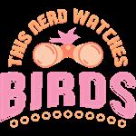 Nerd Birdwatcher Pink