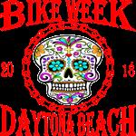 Daytona Bike Week Sugar Skull 4