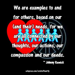 Compassion and Deeds