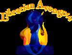 Librarian Avenger Flaming Stamp
