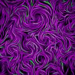 Iridescent Purple Party Swirls