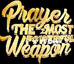 Prayer Power Gold