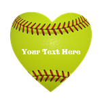 Softball love Heart