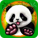 Panda Baby Bear Cute and Happy