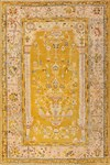 Turkish Floral Antique Carpet