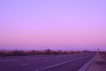 Twilight on the Highway
