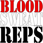 Bodybuilding Blood Sweat Reps