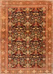 Antique Persian Rug with Animals