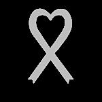Personalized Gray Awareness Ribbon