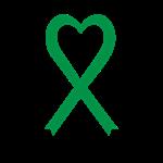 Personalized Green Awareness Ribbon