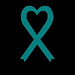 Personalized Teal  Awareness Ribbon