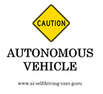P04-01 Caution Autonomous Vehicle