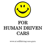 P24-02 Smile For Human Driven Cars